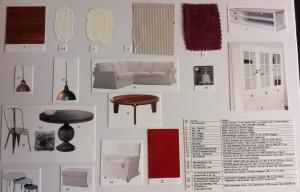 Møbler, materialer og farver præsenteres